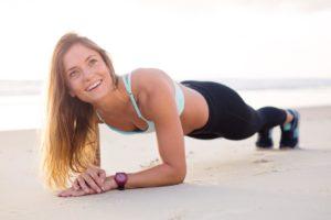 Plank Übungen für die Core Stabilität