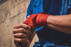 Bandagen zum Stabilisieren der Handgelenke