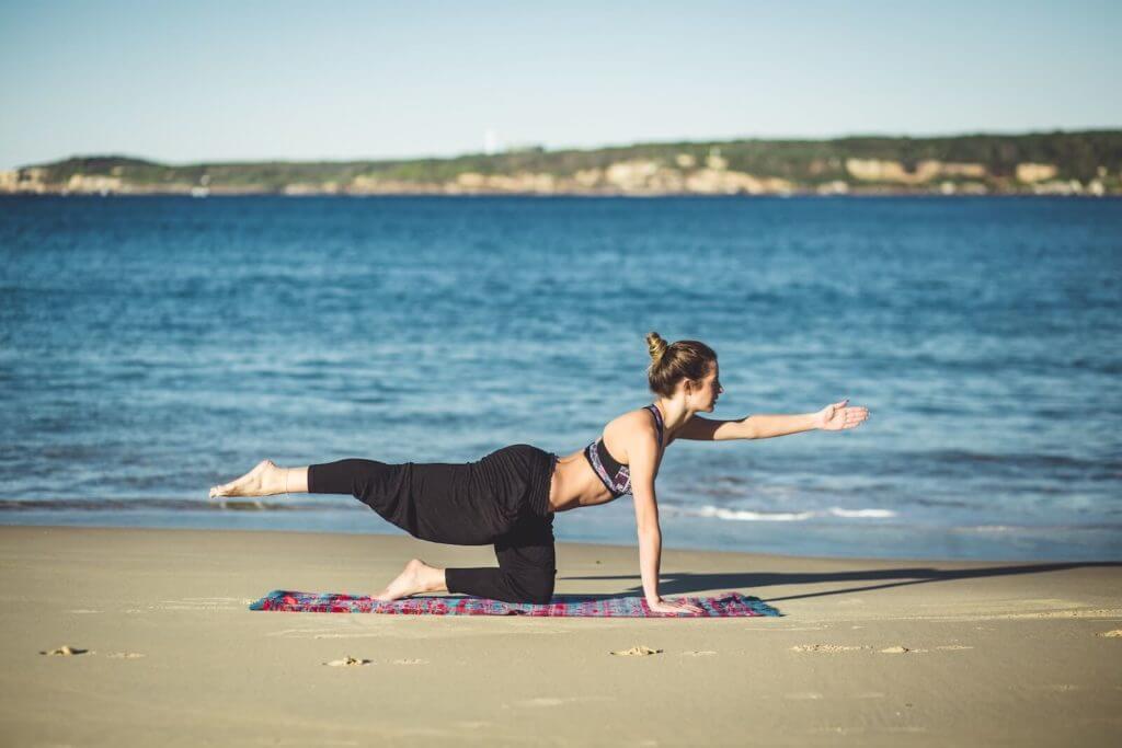 Kräftigung der Schultern durch Yoga
